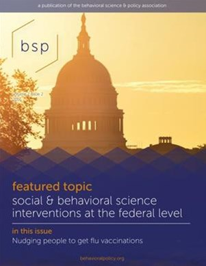 Behavioral Science and Policy