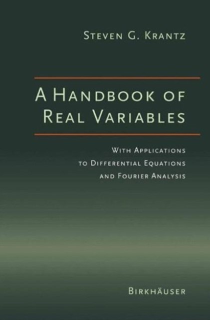 Handbook of Real Variables