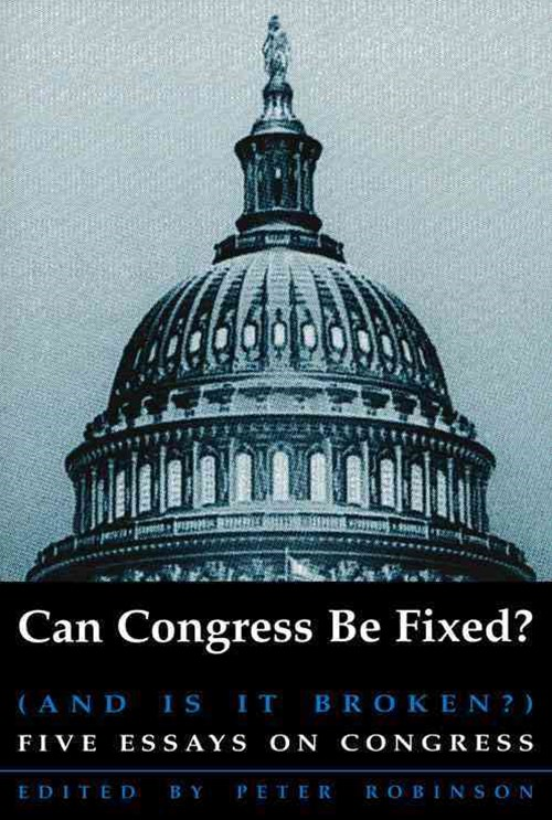Can Congress be Fixed?