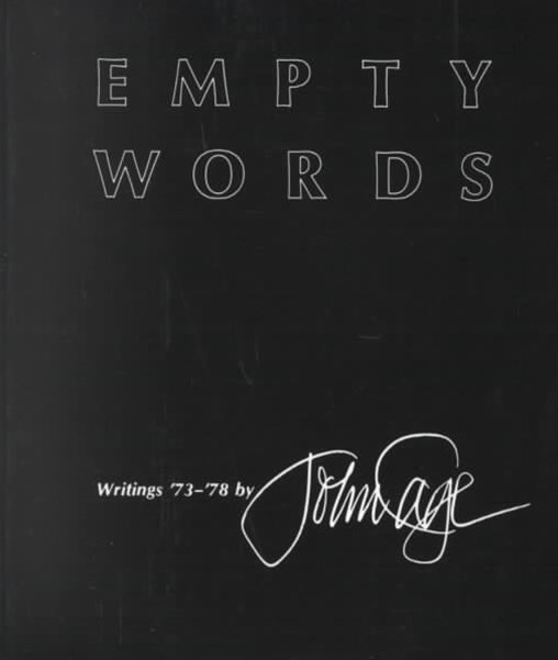 Empty Words: Writings '73-'78