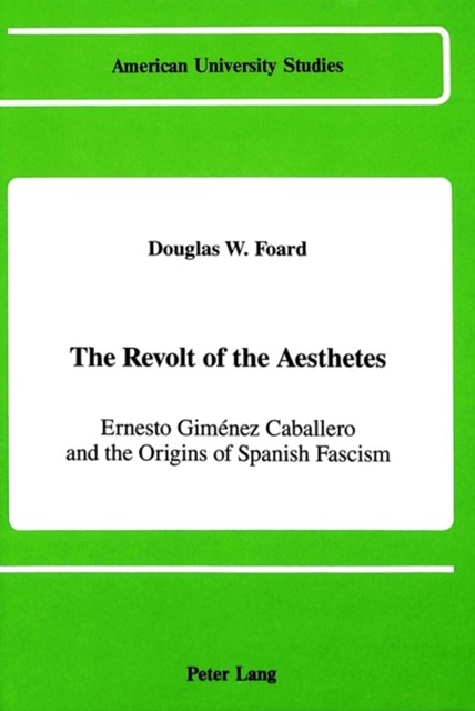 Revolt of the Aesthetes