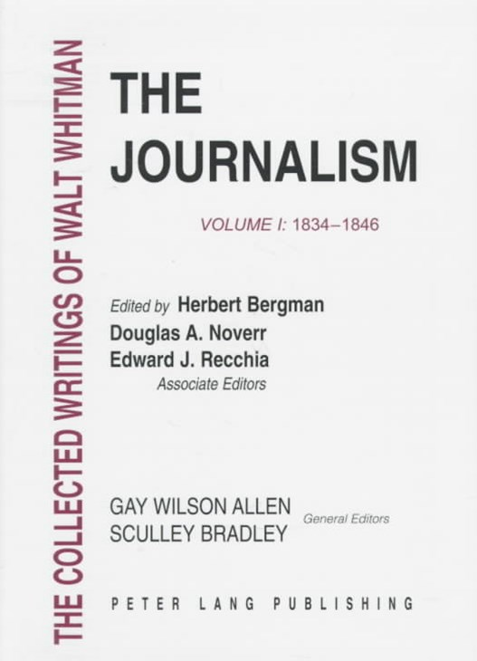 The Journalism, 1834-1846