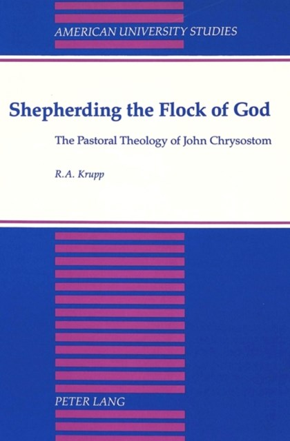 Shepherding the Flock of God
