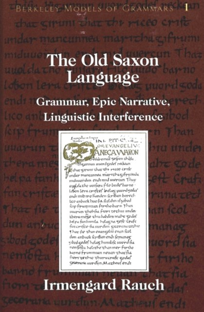 Old Saxon Language