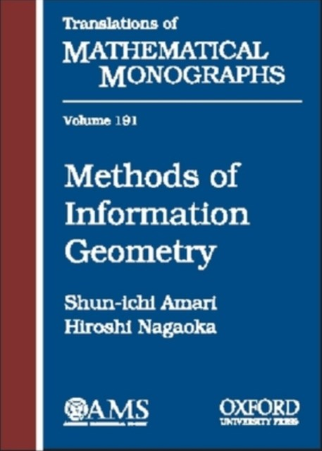 Methods of Information Geometry