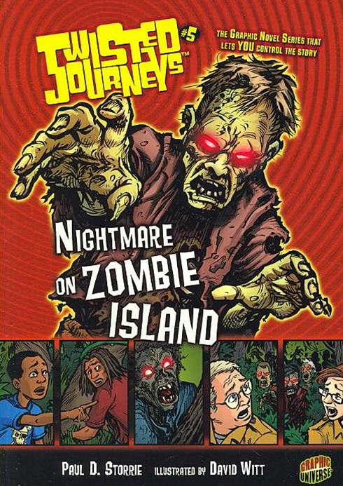 Twisted Journeys Bk 5: Nightmare On Zombie Island
