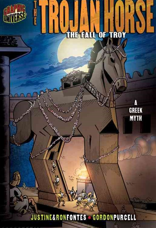 The Trojan Horse The Fall Of Troy (A Greek Myth)