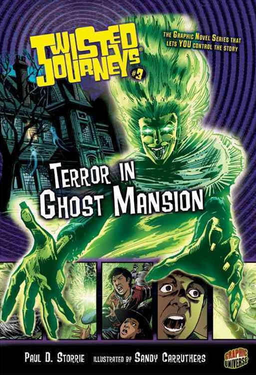 Twisted Journeys Bk 3: Terror In Ghost Mansion