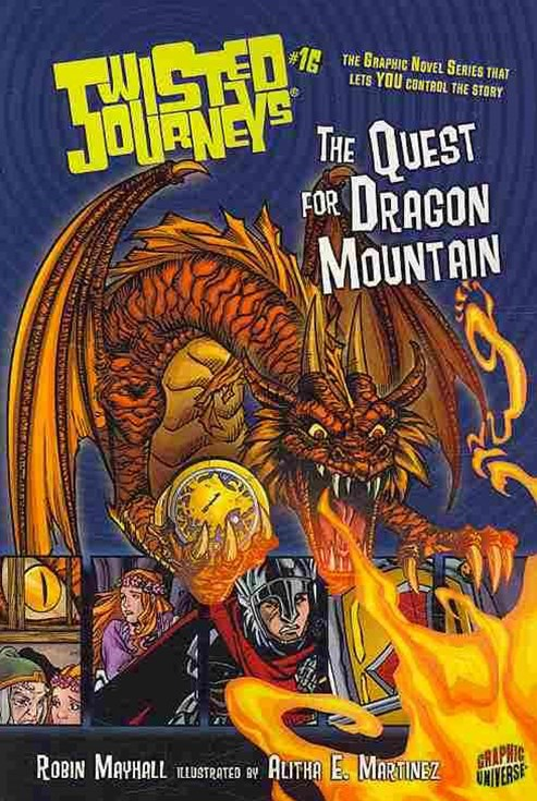 Twisted Journeys Bk 16: The Quest For Dragon Mountain