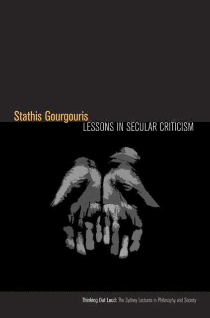 Lessons in Secular Criticism