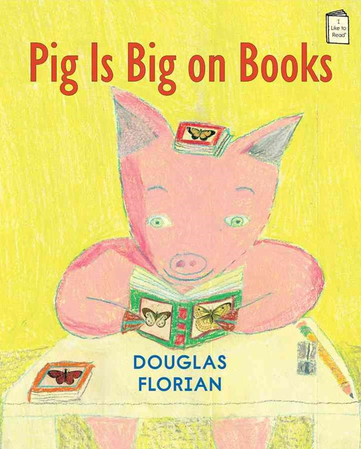 Pig Is Big on Books