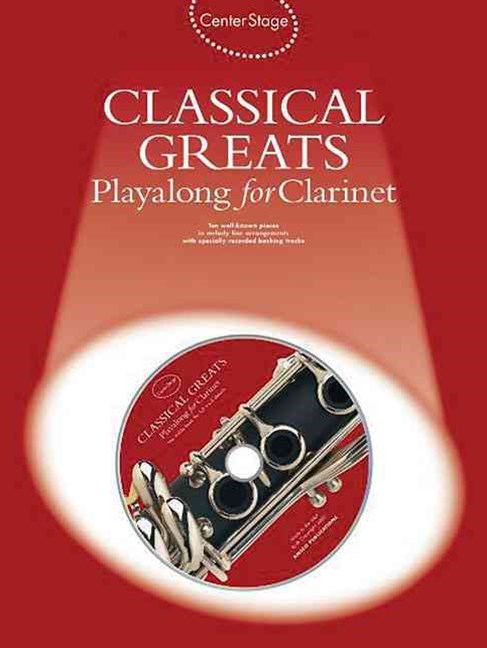 Classical Greats Playalong for Clarinet