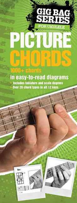 Ukulele Gig Bag Book of Picture Chords