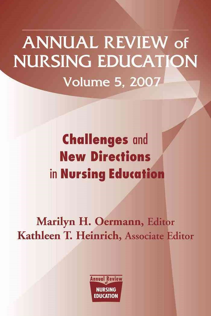 Annual Review of Nursing Education