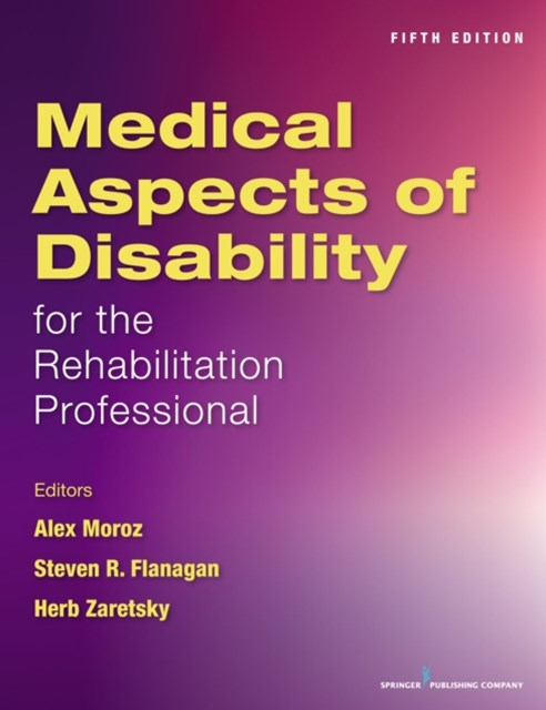 (ebook) Medical Aspects of Disability for the Rehabilitation Professional, Fifth Edition