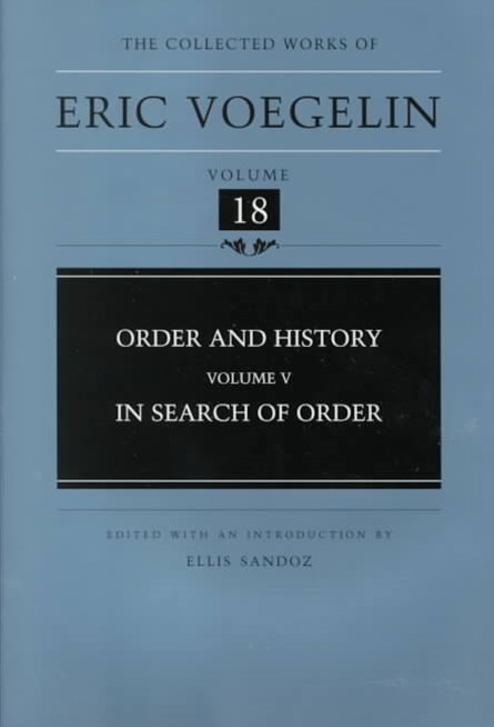 Order and History: In Search of Order
