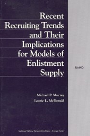 Recent Recruiting Trends and Their Implications for Models of Enlistment Supply
