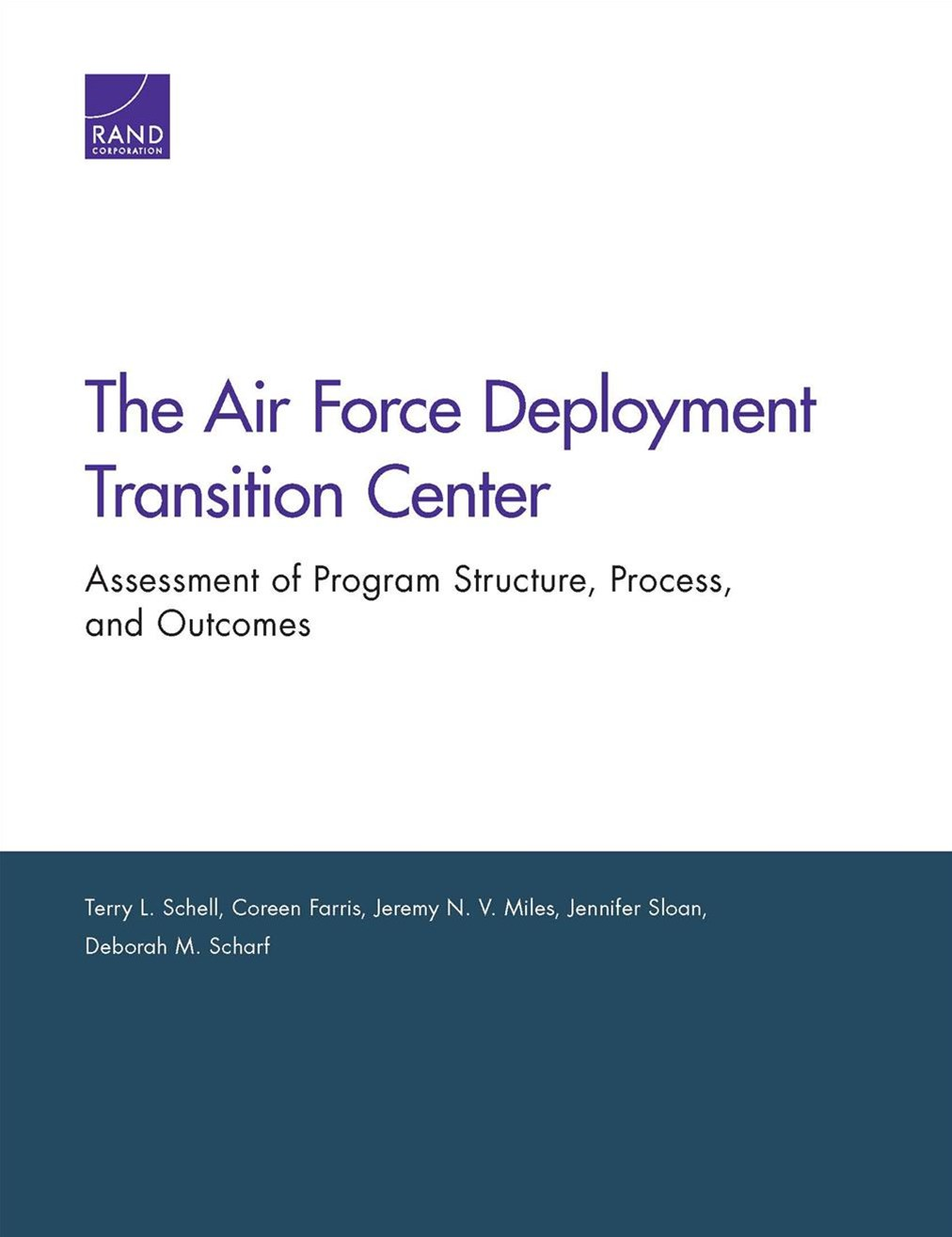 The Air Force Deployment Transition Center