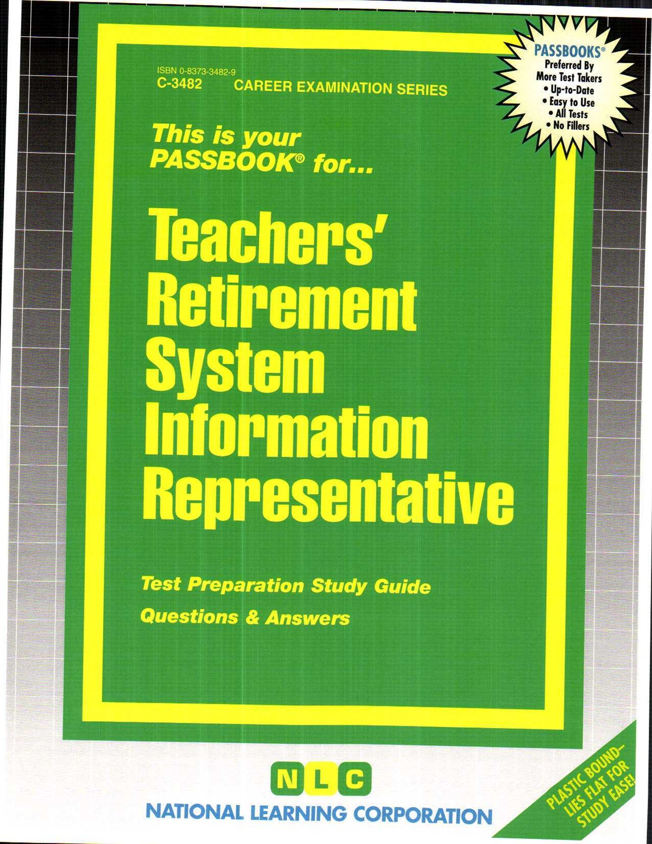 Teachers' Retirement System Information Representative