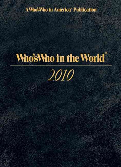 Who's Who in the World 2010