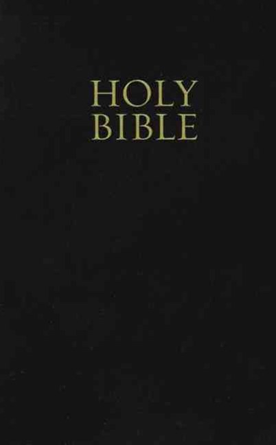 KJV, Holy Bible, Giant Print, Imitation Leather, Black, Red Letter Edition: Giant Print