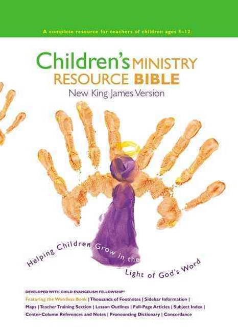 NKJV, Children's Ministry Resource Bible, Hardcover
