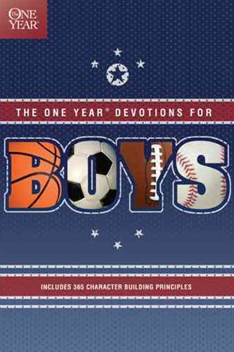 One Year Book of Devotions for Boys