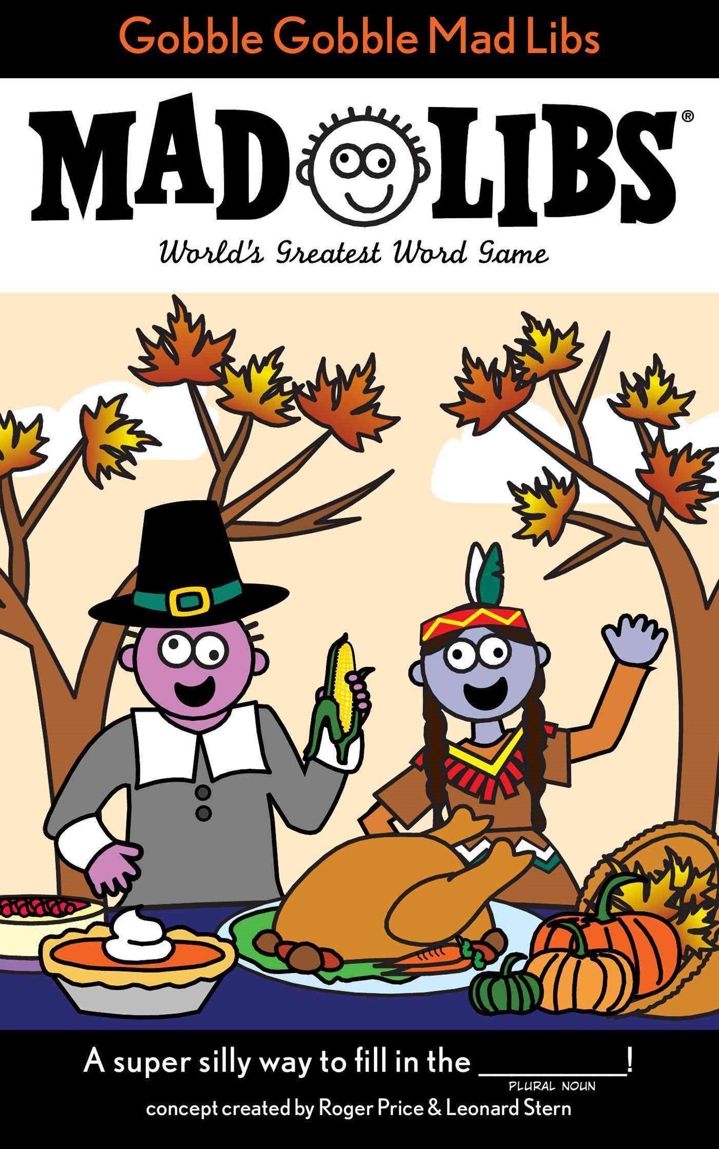 Gobble Gobble Mad Libs