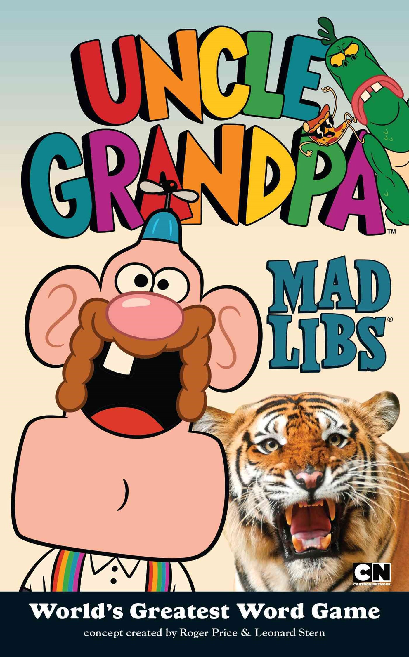 Uncle Grandpa Mad Libs