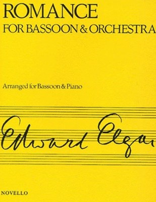 Elgar, E Romance for Bassoon and Orchestra Bsn/Pf