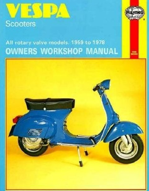 Vespa Scooters, 1959 to 1978