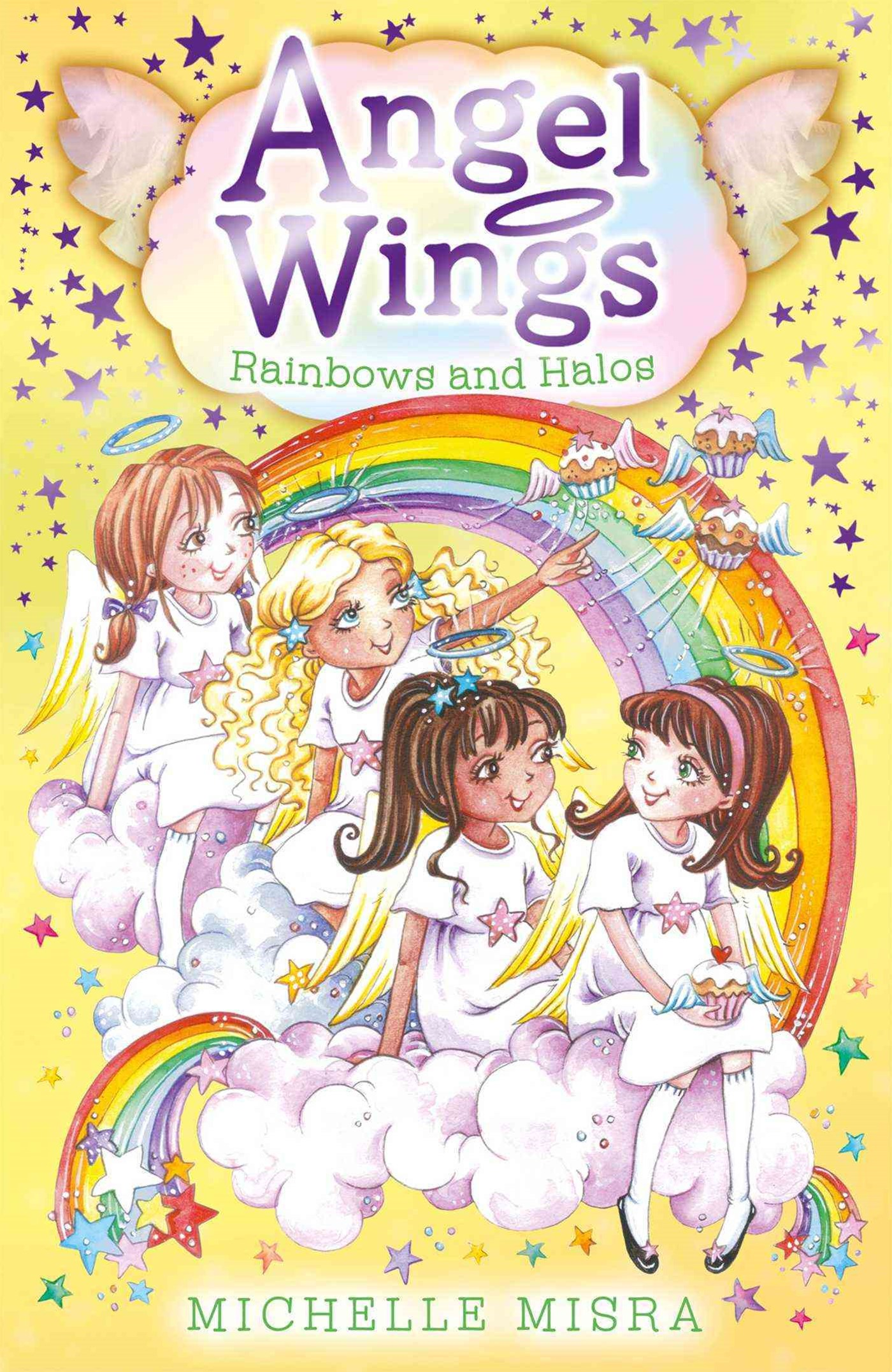 Angel Wings:Rainbows and Halos