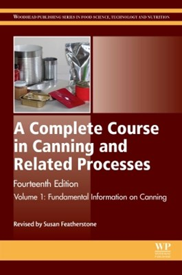 Complete Course in Canning and Related Processes