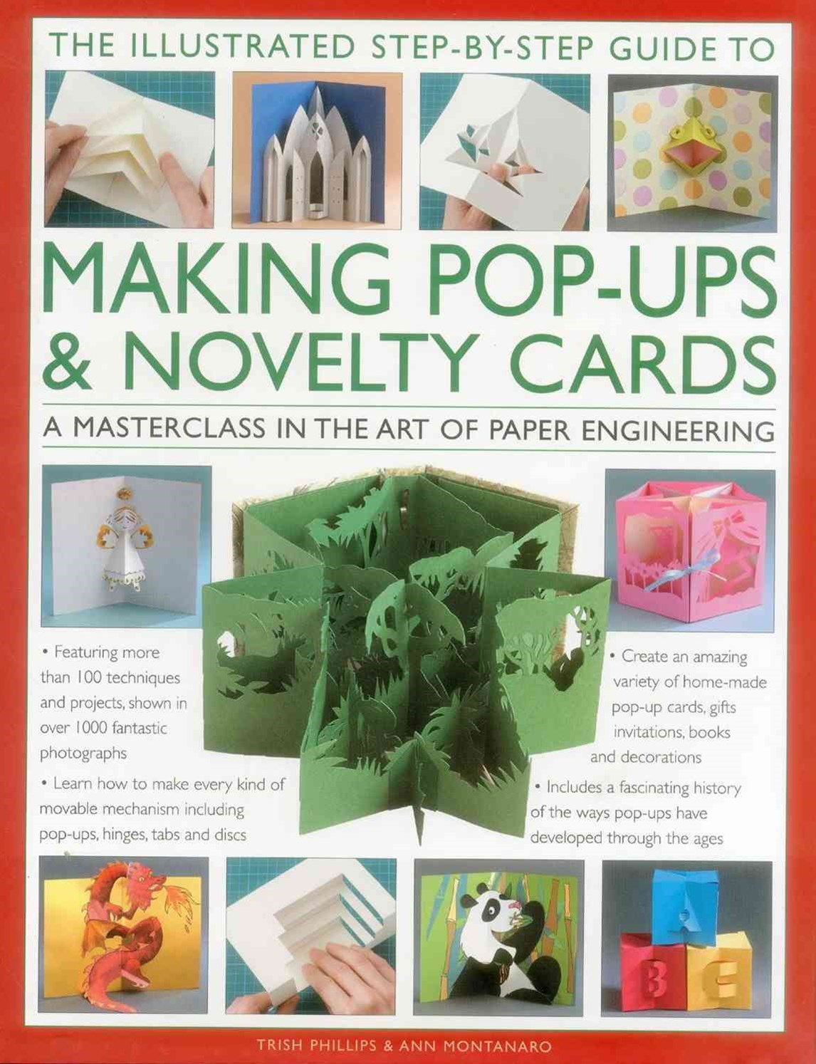 'The Illustrated Step-by-Step Guide to Making Pop-Ups and Novelty Cards