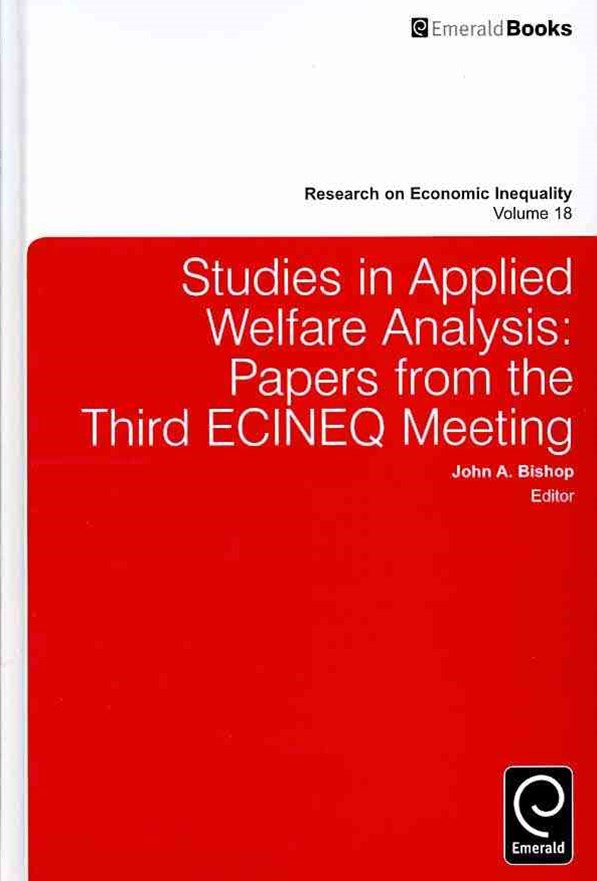 Studies in Applied Welfare Analysis