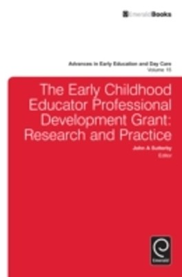 (ebook) Early Childhood Educator Professional Development Grant