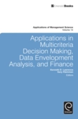 (ebook) Applications in Multi-criteria Decision Making, Data Envelopment Analysis, and Finance