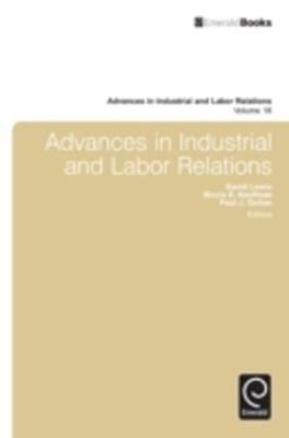 (ebook) Advances in Industrial and Labor Relations