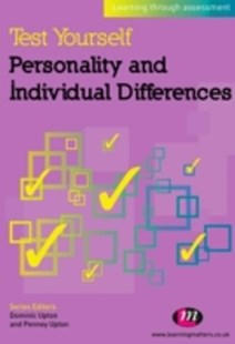 (ebook) Test Yourself: Personality and Individual Differences - Social Sciences Psychology