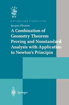 Combination of Geometry Theorem Proving and Nonstandard Analysis with Application to Newton