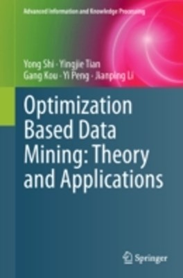 (ebook) Optimization Based Data Mining: Theory and Applications