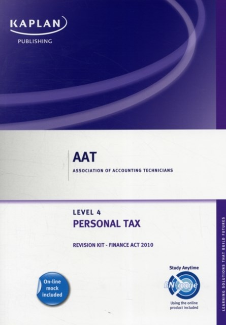 Personal Tax - Revision Kit