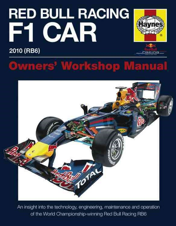 Red Bull Racing F1 Car Manual H/C