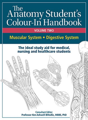 Anatomy Student's Colour-In Handbooks: Volume Two