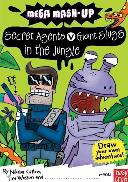 Mega Mash-Up: Secret Agents v Giant Slugs in the Jungle