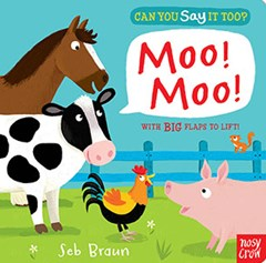 Can You Say It Too? Moo Moo