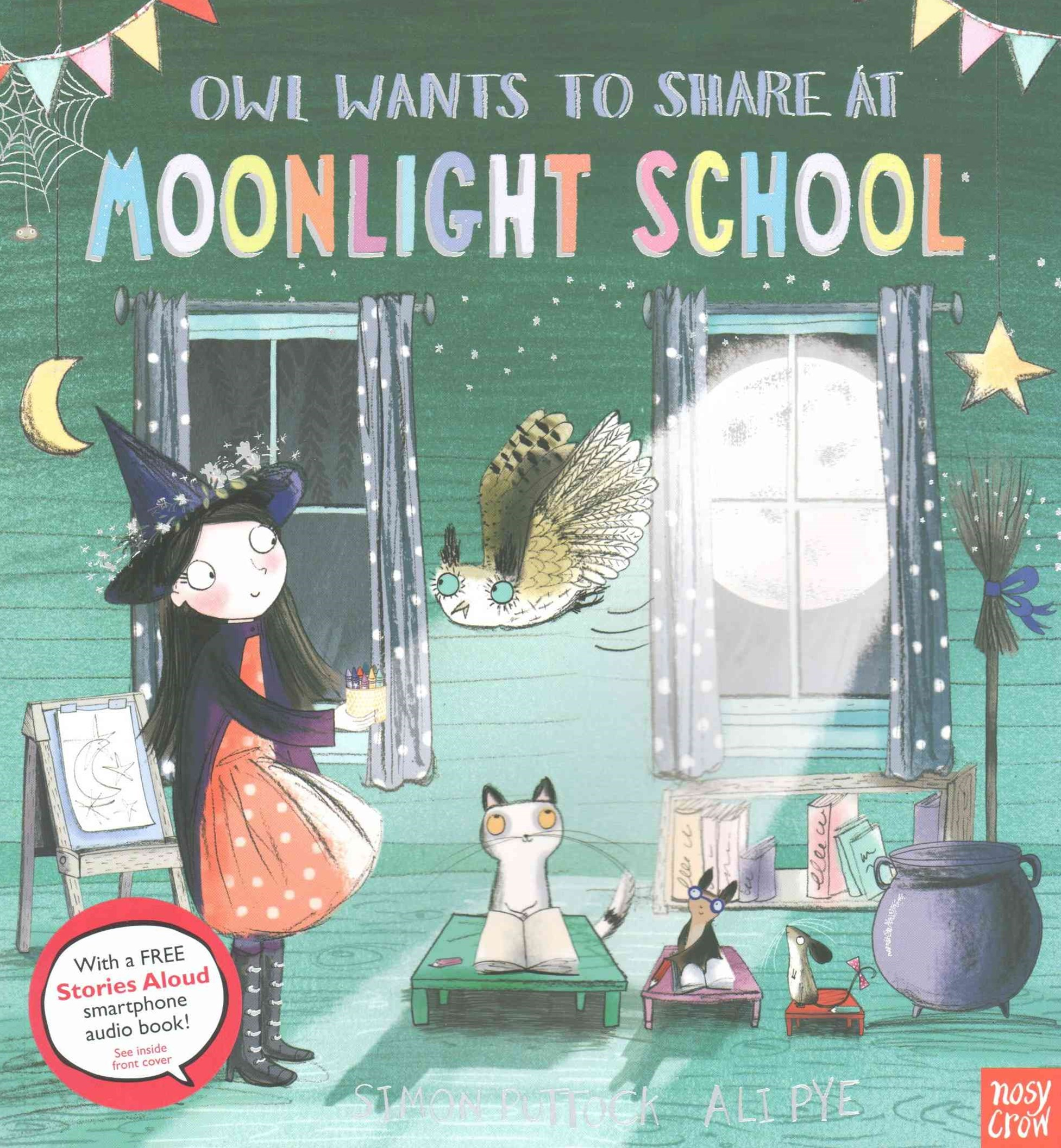 Owl Wants to Share at Moonlight School