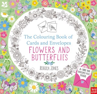 Colouring Cards and Envelopes -  Flowers and Butterflies by Rebecca Jones (9780857637321) - PaperBack - Non-Fiction Art & Activity