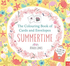 Colouring Cards and Envelopes - Summertime