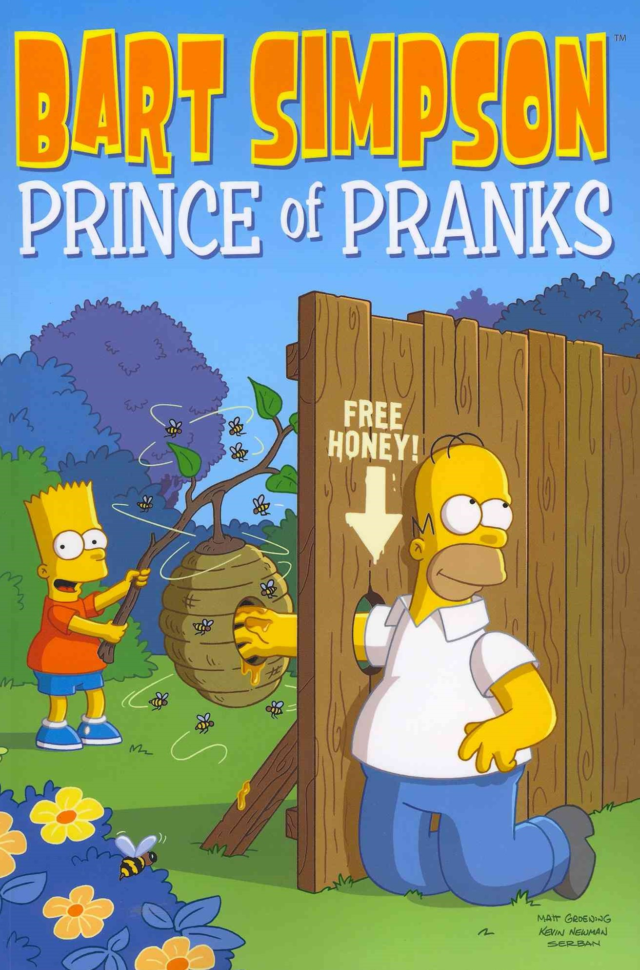 Bart Simpson: Prince of Pranks